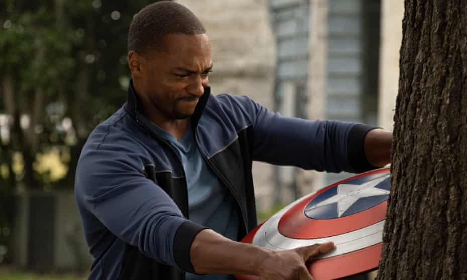 Falcon/Sam Wilson (Anthony Mackie) in The Falcon and the Winter Soldier.