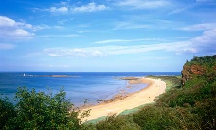 Seacliff beach, North berwick