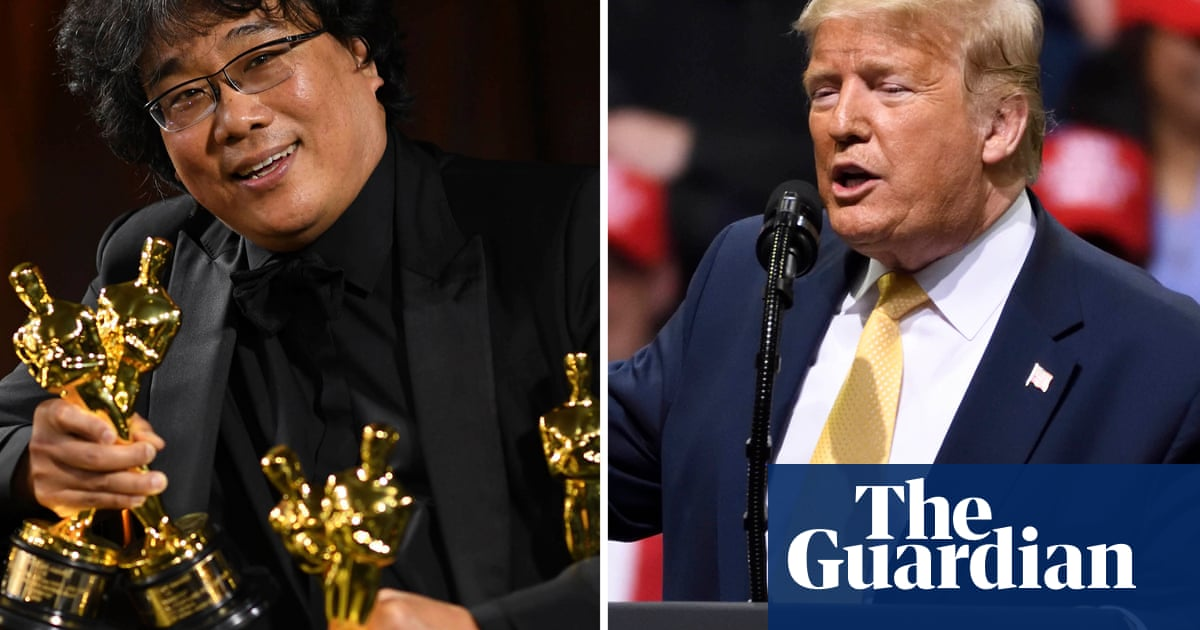 Trump mocks Oscar win for Parasite: What the hell was that about? –video