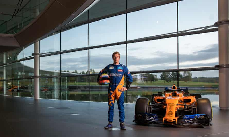 Oliver Turvey at the McLaren Technology Centre in Woking: 'You always hope you have the chance to step up one day.'