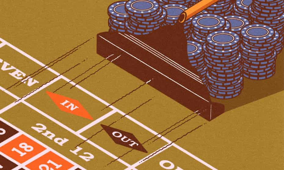 roulette Illustration by Robert G Fresson