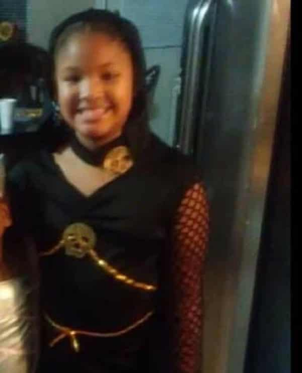 Seven-year-old Jazmine Barnes, killed in a shooting near a Houston-area Walmart