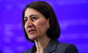 The NSW premier, Gladys Berejiklian.