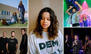 Clockwise from top left: The Lemon Twigs, Tirzah, Ssion, Thirdstory and Rufus Du Sol.