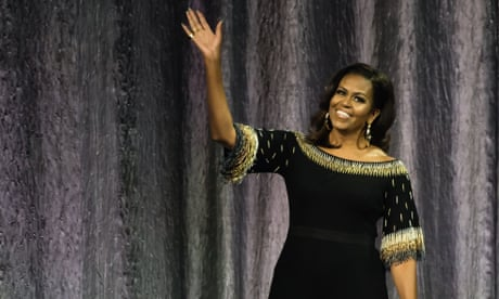 All hail Michelle Obama: like Beyoncé, she has fully upstaged her husband