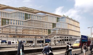 BIG and Heatherwick's design for Google's new London headquarters in King's Cross