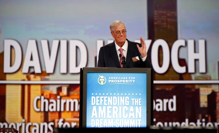 How the Koch brothers built the most powerful rightwing