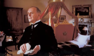 Anthony Hopkins in the film adaptation of Kazuo Ishiguro's Remains of the Day.