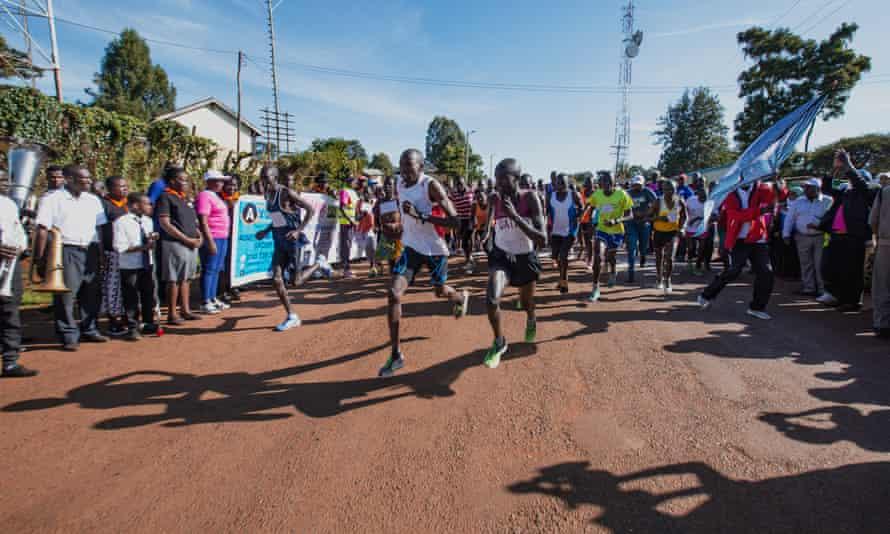 An end-FGM marathon in Kenya.