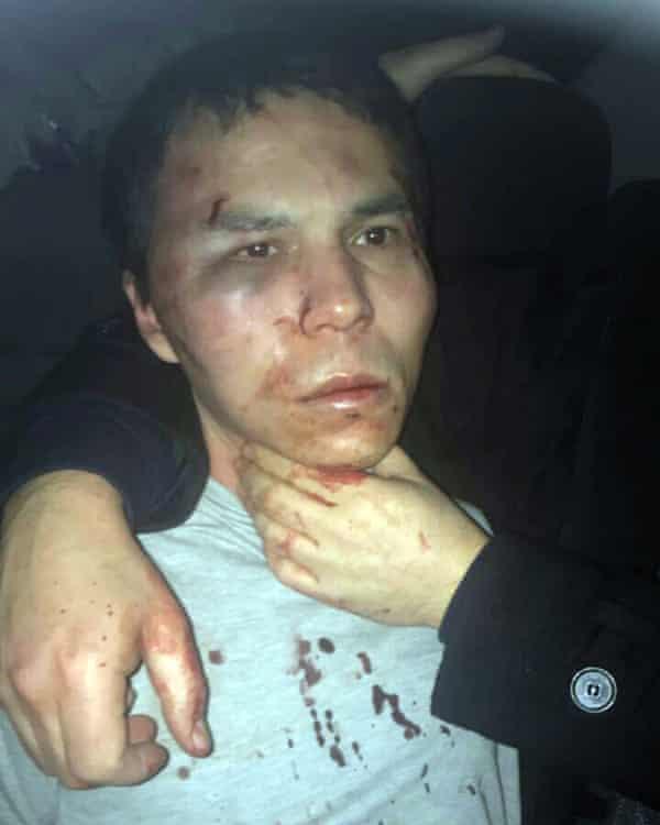 Abdulgadir Masharipov, the main suspect in the Istanbul nightclub attack on New Year's Eve
