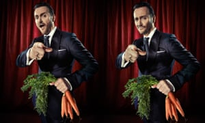 Chef Jason Atherton shot at Bethnal Green Working Men's Club for Observer Food Monthly