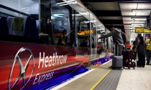 Heathrow Express complaints by passengers were up 60%.