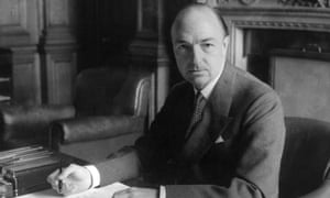 John Profumo, the new secretary of state for war, at the War, July 1960.