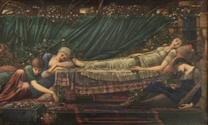 The Legend of Briar Rose: The Sleeping Beauty, 1885-1890, by Sir Edward Coley Burne-Jones.