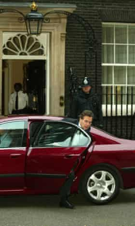 Lord Goldsmith arrives at Number 10.