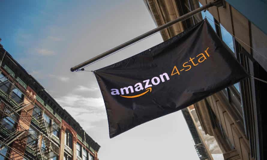 Amazon store in the SoHo neighborhood of New York in 2018.