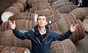 Over a barrel: Paul Brannigan in The Angel's Share.