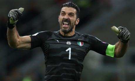 Wild-eyed fury, urchin's grin, sheer dynamism – Gianluigi Buffon had it all | Richard Williams