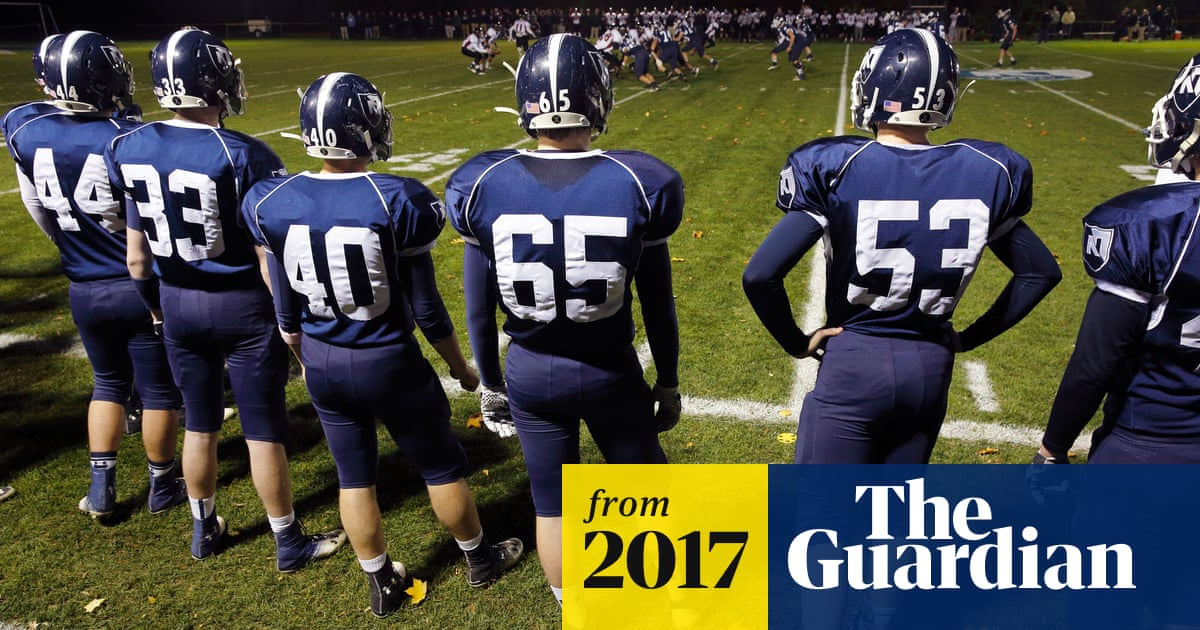 d1330275 Children who take up American football early 'at greater risk of ...