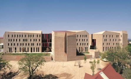 University Dorms in Austin, Texas by Chilean architect-activist Alejandro Aravena.