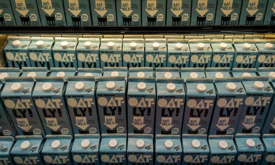 Oatly milk.