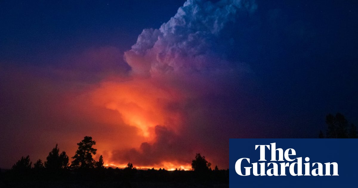 At least 70 large wildfires burning in US west as fears mount over conditions