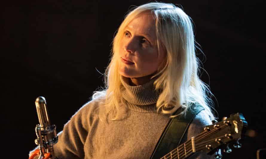 Laura Marling performing at Union Chapel.
