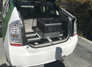 The computer that powers AImotive's driverless car.