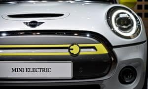 An electric Mini