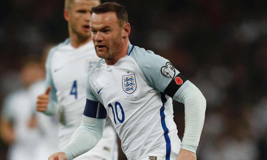 Wayne Rooney England against Scotland