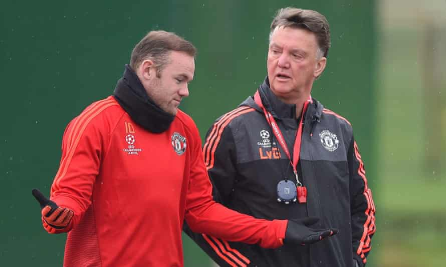 Van Gaal says he made Wayne Rooney captain to try to control his life off the pitch. 'I think we don't succeed totally,' he reflects.