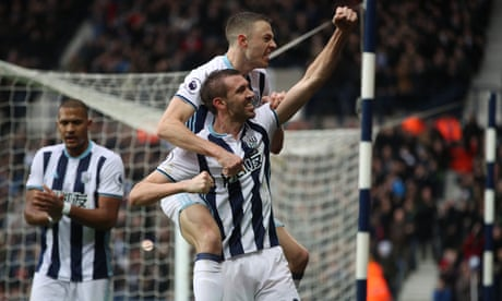 West Bromwich Albion fight back to beat struggling Bournemouth
