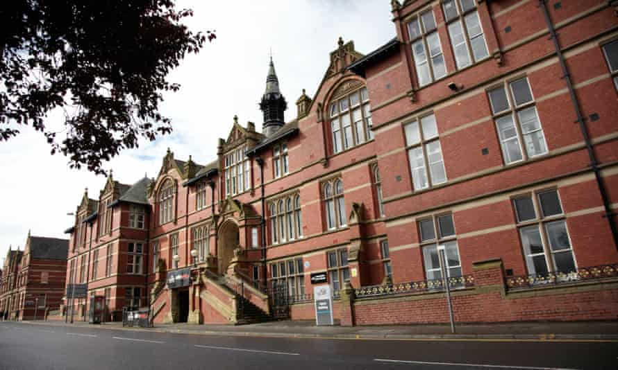 The Harris building at UCLan
