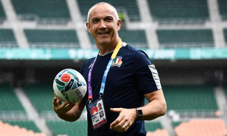 Conor O'Shea left his role as Italy head coach earlier in November.
