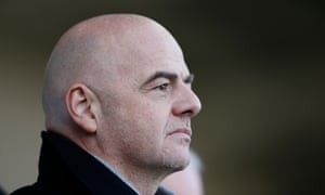 Fifa president Gianni Infantino is alleged to have described his salary as an 'insult'