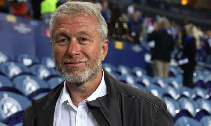 Roman Abramovich, owner of Chelsea FC, after his team's Champions League victory in Porto