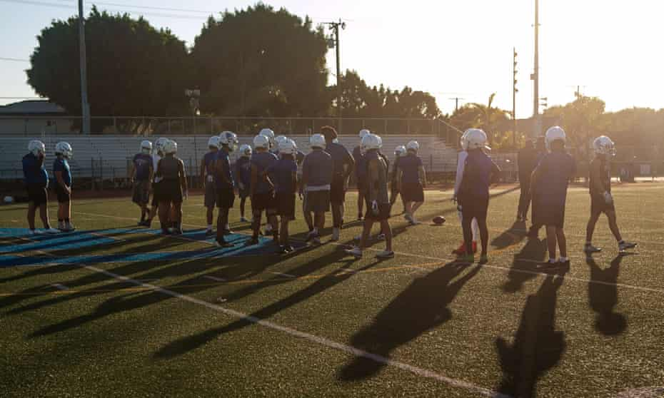 High school football has become an increasingly big business in the US