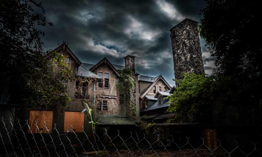 Seriously frightening ... 'I cannot help that the school's name is Brookhants and that it's said to be haunted.'