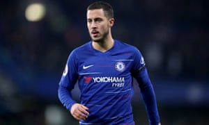 """Eden Hazard called Real Madrid """"the best club in the world"""" in October."""