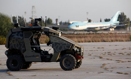 Israel's Guardium unmanned security vehicle