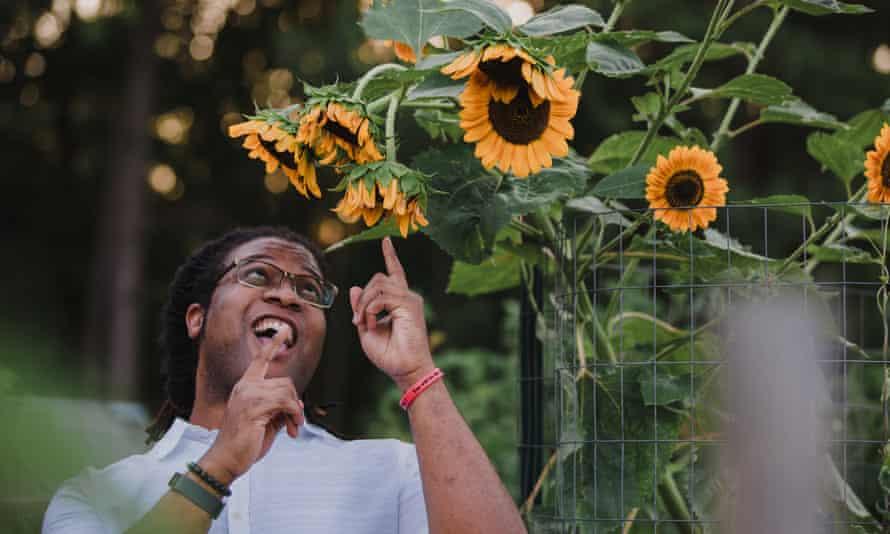 Derek Haynes, The Crazy Botanist. 'Black folks gardening is phenomenal. A radical act.'