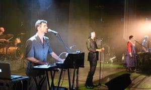 Laibach performing in Pyongyang