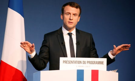 French Presidential Election Emmanuel Macron Vows To Clean Up Politics French Presidential Election 2017 The Guardian