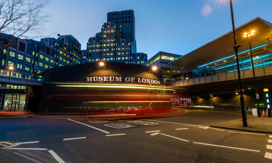 The museum's present home, at London Wall near the Barbican.