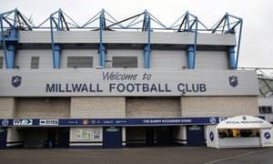 Millwall's stadium, The Den
