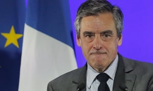 François Fillon at a meeting in Courbevoie, outside Paris, on Tuesday.