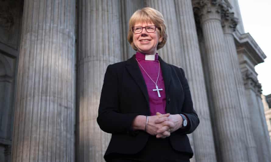 Sarah Mullally, the bishop of London
