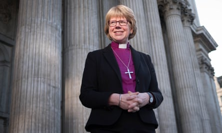 The new Bishop of London, the Right Reverend Sarah Mullally.