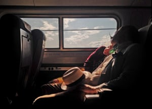 Yvonne Lu from New York, United States placed third with this portrait of travellers on a train along the Hudson Valley.