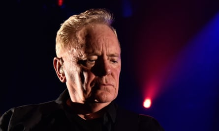 Bernard Sumner performing with New Order in Miami, January 2020.